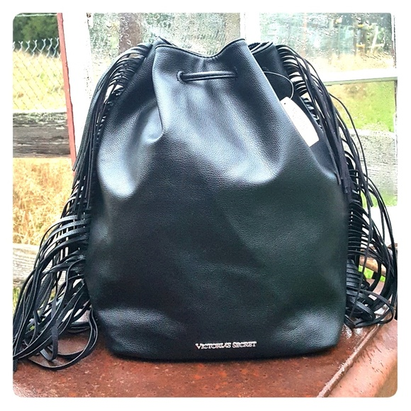Victoria Secret Draw String Backpack Nwt